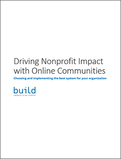 Driving Nonprofit Impact with Online Communities Whitepaper
